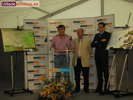 Polaris World cede La Finca La Alcanara al Ayuntamiento de Alhama de Murcia, Foto 1