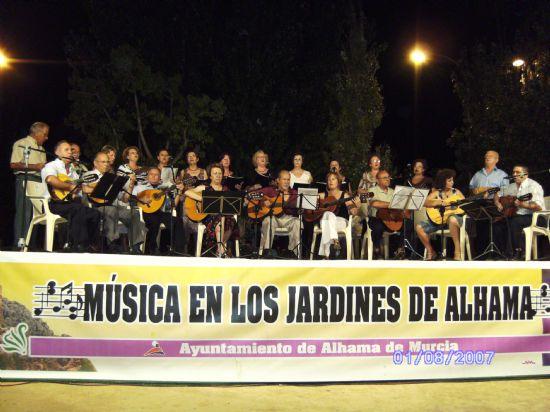 Continúa el ciclo -Música en los Jardines de Alhama-, Foto 1
