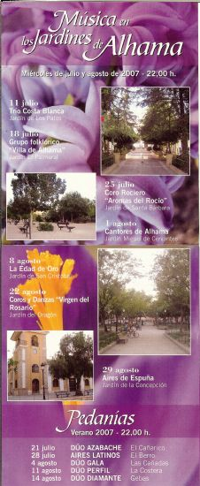 Continúa el ciclo -Música en los Jardines de Alhama-, Foto 6