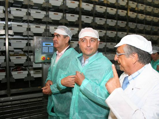 El ministro de Industria, Miguel Sebastián, visitó las instalaciones de ElPozo, Foto 5