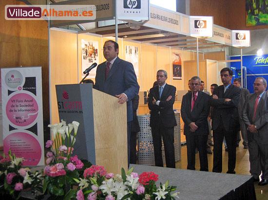 Villadealhama.es estuvo en las Jornadas Técnicas de SICARM 2007, que fueron inauguradas por Benito Mercader , Foto 1