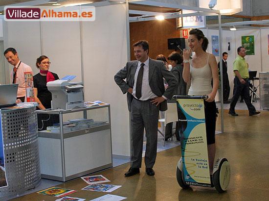 Villadealhama.es estuvo en las Jornadas Técnicas de SICARM 2007, que fueron inauguradas por Benito Mercader , Foto 8