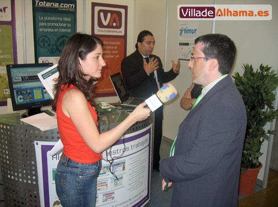 Villadealhama.es estuvo en las Jornadas Técnicas de SICARM 2007, que fueron inauguradas por Benito Mercader , Foto 9