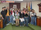 El Consistorio de Alhama recibe a alumnos franceses que han pasado unos d�as en la localidad