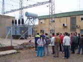 Alumnos del I.E.S. Miguel Hern�ndez realizaron una visita a Instalaciones significativas del entorno cercano relacionadas con las competencias profesionales de los estudios que est�n realizando
