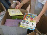 Unos 3.300 kilos de libros se han recogido en el Municipio de Alhama para el tercer mundo