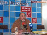 La agrupacion socialista invita a todo el pueblo de Alhama  a la inauguraci�n este viernes de