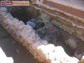 Excavaci�n arqueol�gica en el sector sur del atrio de la Iglesia Parroquial de San L�zaro Obispo